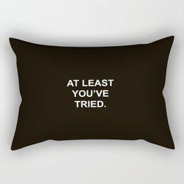 Quote Rectangular Pillow