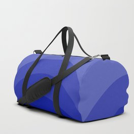 Four Shades of Blue Curved Duffle Bag