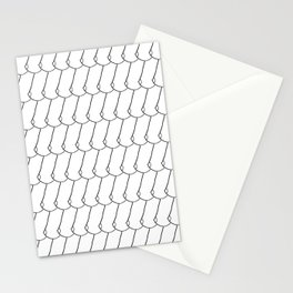 side boob Stationery Cards
