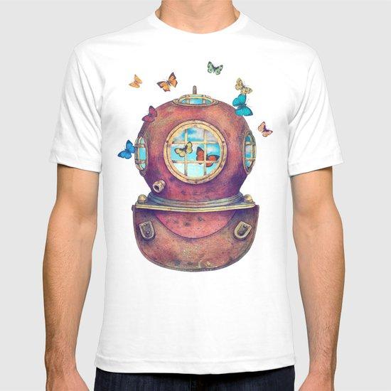 Inner Space - colour option T-shirt