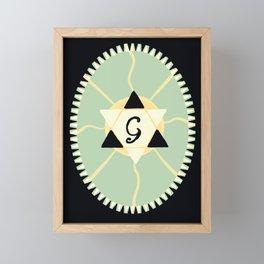 Godstar Framed Mini Art Print