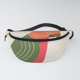 Australian King Parrot, Bird of Australia Fanny Pack