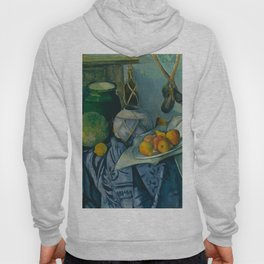 "Paul Cezanne ""Still Life with a Ginger Jar and Eggplants"" Hoody"
