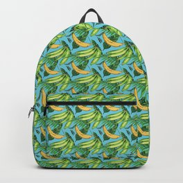 Plantain Paradise Pattern - For true plantain fans Backpack