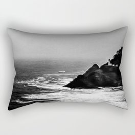 A Dark and Stormy Night Rectangular Pillow