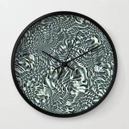 Patterns of a magic shell Wall Clock