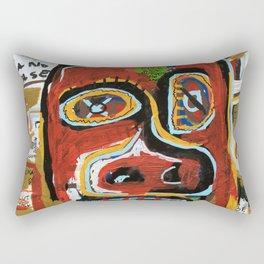 The Face Rectangular Pillow