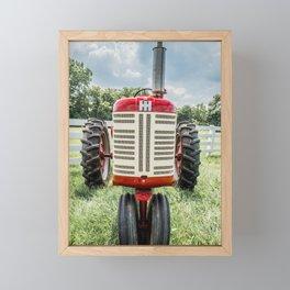 Vintage IH Farmall 450 Framed Mini Art Print