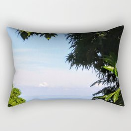 View of Caribbean Sea in Ocho Rios Jamaica Rectangular Pillow