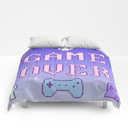 Game Over (pastel) Comforters