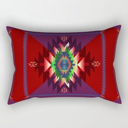 southwest dream in wine Rectangular Pillow