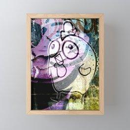 Martense and Wythe Framed Mini Art Print