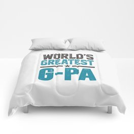 Gift for G-Pa Comforters