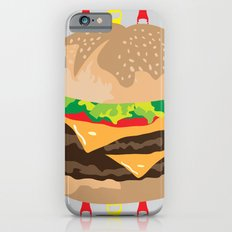 Double Cheeseburger Slim Case iPhone 6s