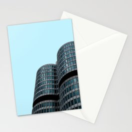 Modern architecture  in Munich Stationery Cards