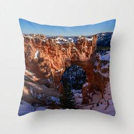 Natural_Bridge 8376 - Bryce_Canyon_National_Park, Utah Throw Pillow