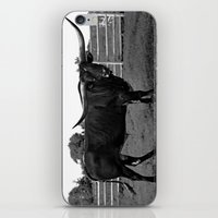 bull iPhone & iPod Skins featuring Bull by vogel