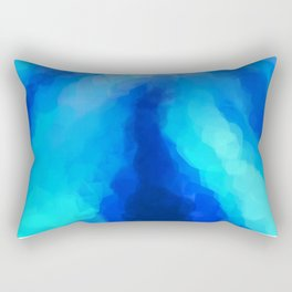 Tropical Sea Flower Rectangular Pillow