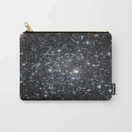 Stars : subtle black blue gold Carry-All Pouch