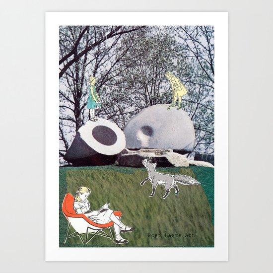 Croquette Art Print