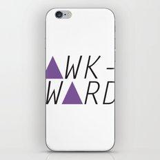 awkward iPhone & iPod Skin