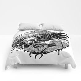 Noisy raven Comforters