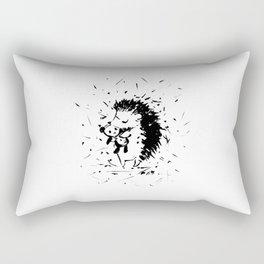 Adorable Hedgehog No.2a by Kathy Morton Stanion Rectangular Pillow