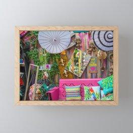 Art is among us Framed Mini Art Print