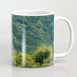 Japanese forest temple Coffee Mug