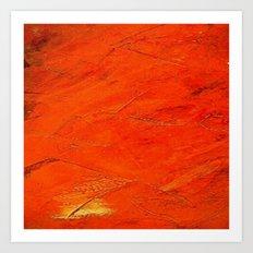 Glazed Terracotta Art Print