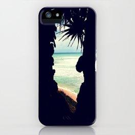 Beach Frame iPhone Case