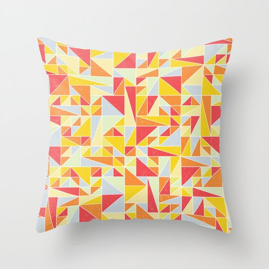 Shapes 008 Throw Pillow