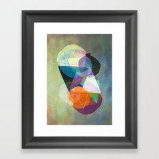 Graphic 117 Z Framed Art Print
