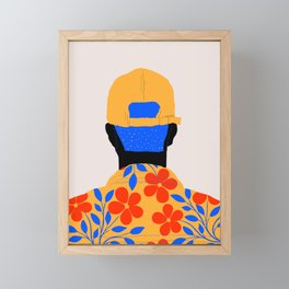 Come back Framed Mini Art Print