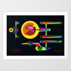 Enterprise Art Print