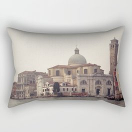 Venice in Winter mood Rectangular Pillow