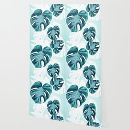 Tropical retreat Wallpaper