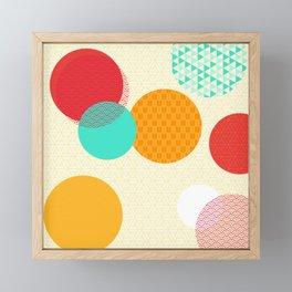 Japanese Patterns 06 Framed Mini Art Print