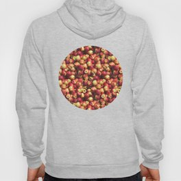 Red Apple Photo Pattern Hoody