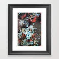 Murray in the Studio  Framed Art Print