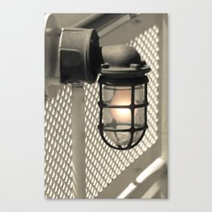 Deck Light Canvas Print