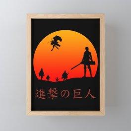 Scout Regiment Framed Mini Art Print