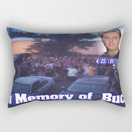 in memory of buck Rectangular Pillow