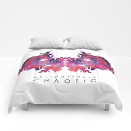Delightfully Chaotic Comforters