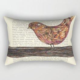 Bright Flight Rectangular Pillow