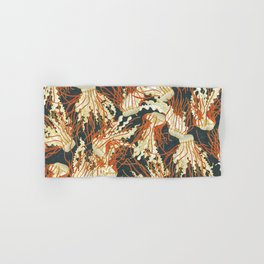 jellyfish slate Hand & Bath Towel