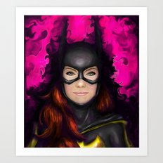 Bat of Stone Art Print