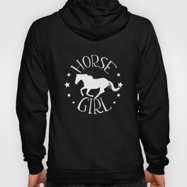 Horse Girl Cute design Gift for Horse Riders and Girls Hoody