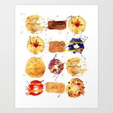 My Biscuits Art Print