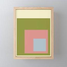 Color Ensemble No. 7 Framed Mini Art Print
